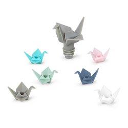 Набор из пробки для бутылки и маркеров для бокалов origami
