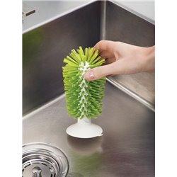 Щетка для стаканов на присоске Brush-up зеленая, Joseph Joseph