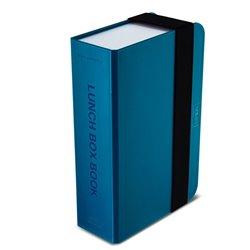 Ланч-бокс box book бирюзовый