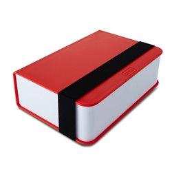 Ланч-бокс Book красный, Black+Blum