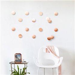 Декор для стен Confetti dots медь, Umbra