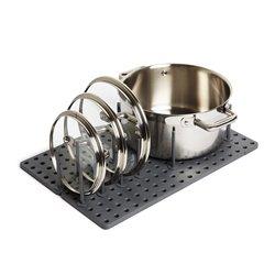 Органайзер для посуды и столовых приборов peggy серый