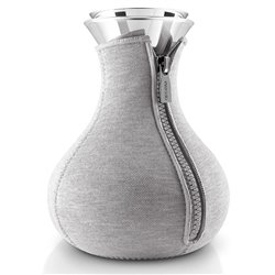 Чайник заварочный Tea maker в неопреновом текстурном чехле 1 л светло-серый, Eva Solo