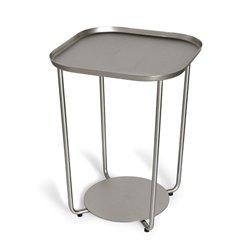 Приставной столик annex никель