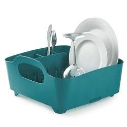 Сушилка для посуды Tub сине-зеленая