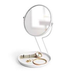 Зеркало настольнное See me белое, Umbra
