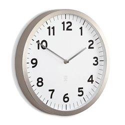 Настенные часы Anytime белые, Umbra