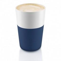 Чашки для латте 2 шт тёмно-синие, Eva Solo
