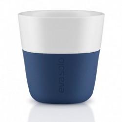 Чашки для эспрессо 2 шт. темно-синие