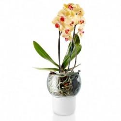 Горшок для орхидеи с функцией самополива 15 см белый, Eva Solo