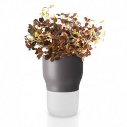 Горшок для растений с с функцией самополива 9 см серый, Eva Solo