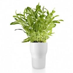 Горшок для растений с функцией самополива 11 см белый, Eva Solo