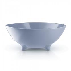Блюдо Globe лунно-голубое