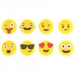 Набор маркеров для стаканов Emoji 8 шт.
