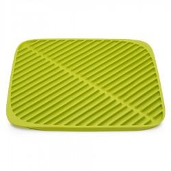 Коврик для сушки посуды Flume маленький зеленый, Joseph Joseph