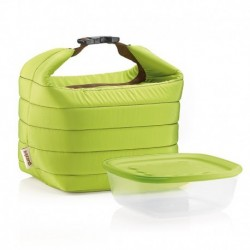 Набор термосумка+контейнер Handy зеленый, Guzzini