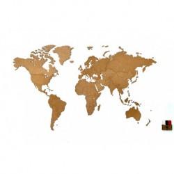 Пазл Mimi «Карта мира» Wall Decoration base коричневый, Mimi