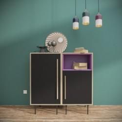 Комплект-1, фиолетовый, BraginDesign