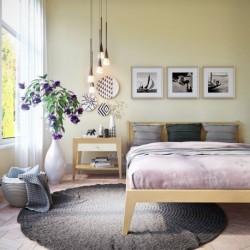 Кровать Fly дуб, 140 см, BraginDesign