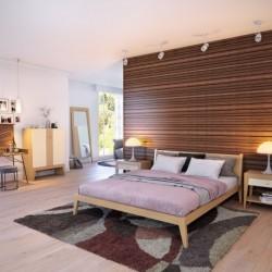 Кровать Fly дуб, BraginDesign