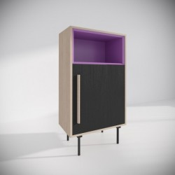 Модуль B, фиолетовый, BraginDesign
