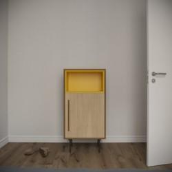 Модуль B, желтый, BraginDesign