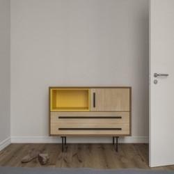 Модуль-E желтый, тонировка, BraginDesign