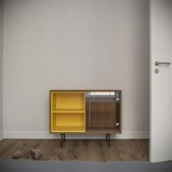 Модуль-С желтый тонировка, прозрачный, BraginDesign