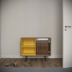Модуль-С желтый тонировка, матовый, BraginDesign