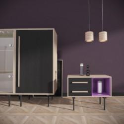 Тумба Twin, фиолетовая, BraginDesign