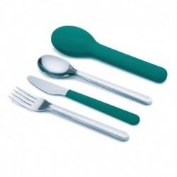 Набор столовых приборов goeat™ cutlery set изумрудный, Joseph Joseph