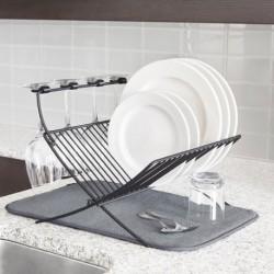 Сушилка для посуды с ковриком Xdry, Umbra