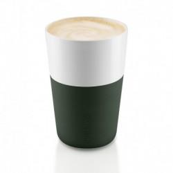 Чашки для латте 2 шт. тёмно-зелёные, Eva Solo