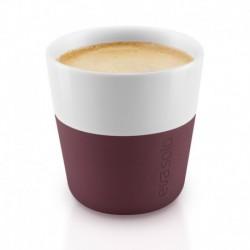 Чашки для эспрессо 2 шт. бургунди, Eva Solo