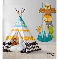 Ростомер на стену Mondeco Маленькие индейцы