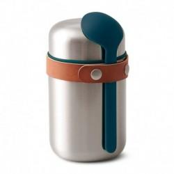 Термос для горячего Food Flask бирюзовый, Black+Blum
