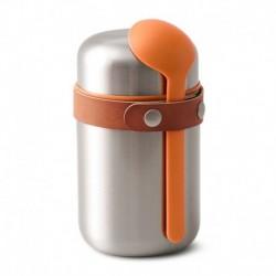 Термос для горячего food flask оранжевый, Black+Blum