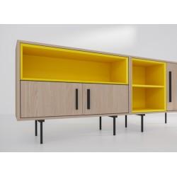 Комплект-4 желтый, дуб, BraginDesign