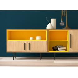 Комплект-4 желтый, тонировка, BraginDesign