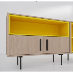 Модуль-A, желтый, BraginDesign