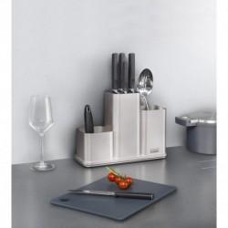 Органайзер для кухонной утвари настольный counterstore серебристый, Joseph Joseph