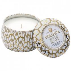 Ароматическая свеча Voluspa Белая замша 113 г