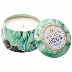 Ароматическая свеча Voluspa Липа и темный мох 113 г