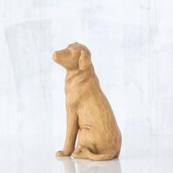 Статуэтка Willow Tree Люблю мою собаку (светлый)/Love my Dog