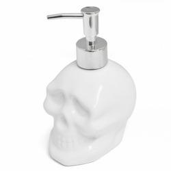 Диспенсер для мыла керамический Skully белый, Balvi