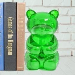 Книгодержатель Yummy bear зеленый, Balvi