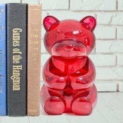 Книгодержатель Yummy bear красный, Balvi