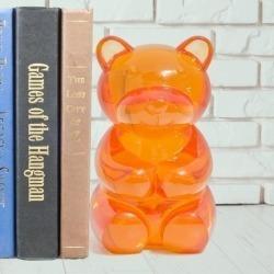 Книгодержатель Yummy bear оранжевый, Balvi