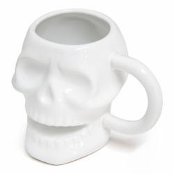 Кружка керамическая Skully белая, Balvi
