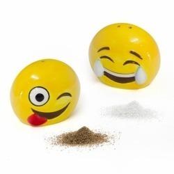 Набор для соли и перца керамический Emoji, Balvi